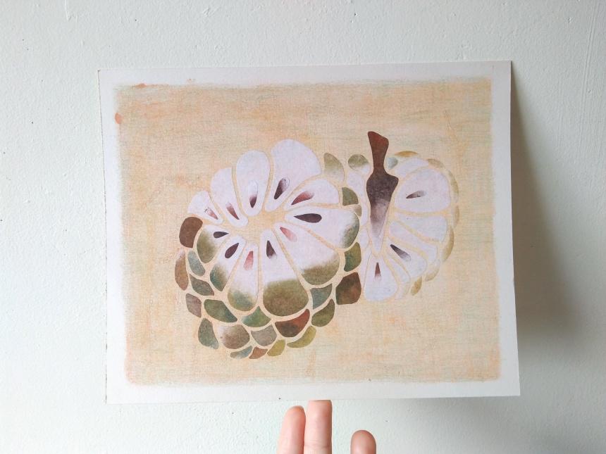 tropical fruits illustration_Yodchat Bupasiri_ยอดฉัตร บุพศิริ3