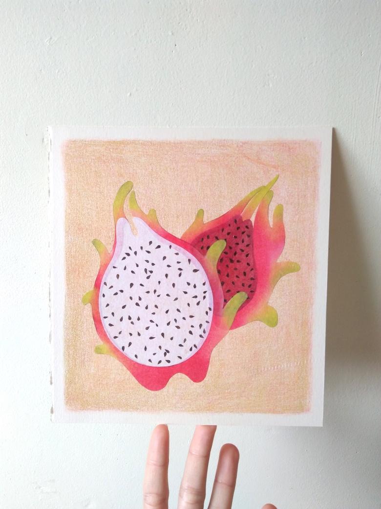 tropical fruits illustration_Yodchat Bupasiri_ยอดฉัตร บุพศิริ6